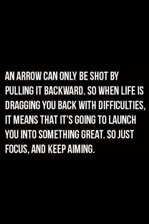 secretdreamlife:  Focus and keep aiming. http://secretdreamlife.tumblr.com