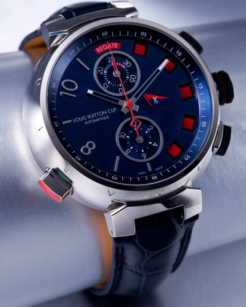LOUIS VUITTON TAMBOUR SPIN TIME REGATTA CHRONOGRAPH