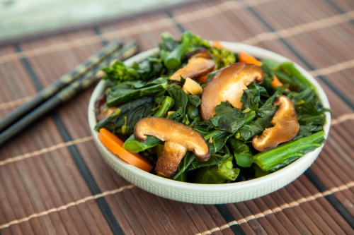 yackattack:  A Delicious and Healthy Malaysian Kailan Stir-Fry This recipe is from a wonderful guest post from Trans-Planted on Vegan Yack Attack!