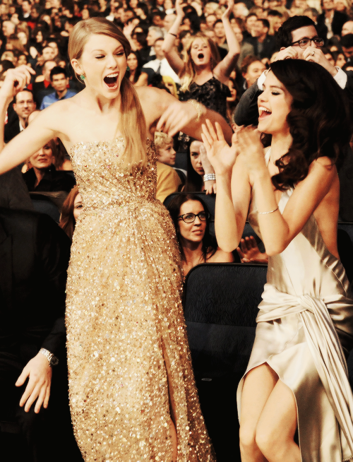Taylor and Selena are my besties.