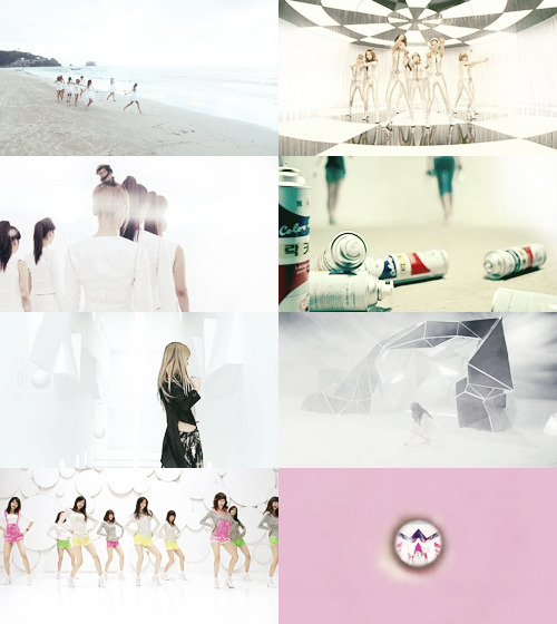 snsd + the space ♡