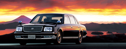 "トヨタ・センチュリー ""In contrast to other luxurious cars (such as the Maybach or Rolls-Royce), the Century has not been positioned and marketed as a sign of wealth or excess. Marketing literature states roughly that, ""the Century is acquired through persistent work, the kind that is done in a plain but formal suit."""