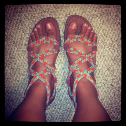 New sandals! ^_^ #newsandals #stevemadden #shopping #yay #summertime