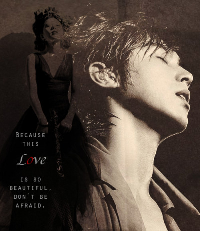 Jung Yunho and Kwon BoA — Love in the Ice - - -  I am not feeling good. I'm not sick anymore but there's been stuff that's really bothering me the past few days so to make myself better, here's a quick YunBoA edit. HAHA!!! I post so much of them I think I should just make a separate blog about them. Whatchu think? LOLOLOLOL! Anyway, special shout out to Izy because she's been providing me with all these high quality and gorgeous Yunho pics! Kekekeke! I don't think I've ever thanked you before so… Well, in a way, this simple picture is dedicated to you. Hihihi! Never stop posting Yunho's fabulous face! I love seeing him on my dash!