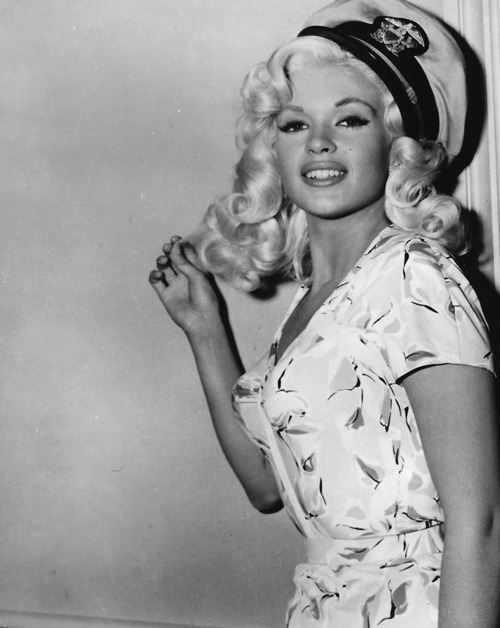 Jayne in a publicity still for Kiss Them For Me (1957)