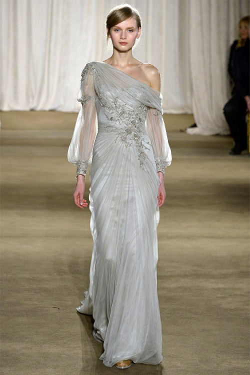 oncethingslookup:  Marchesa Fall 2013 RTW