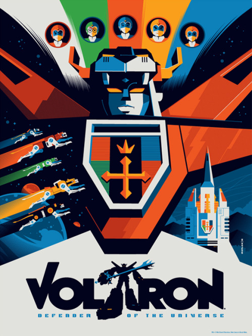 Voltron by Tom Whalen. MINE.