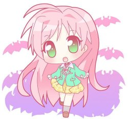 chibi Akashiya Moka (Rosario+Vampire) [read first season and second season] (mangaka:Ikeda Akihisa)