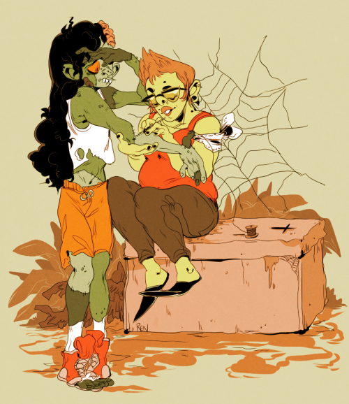 godzillabreath:  stitching up yer zombie girlfriend