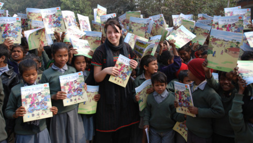Literacy advocate empowers young storytellers in AfghanistanQessa Academy promotes community development with help from social entrepreneur Selene Biffi.