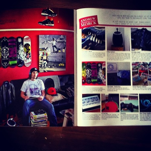 Stoked with my double spread in #Session magazine featuring Andrew Morck. Thanx @sessionad