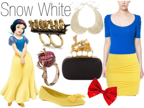 fictionalfashion:  Snow White is today's Movie Monday!Buy it here!