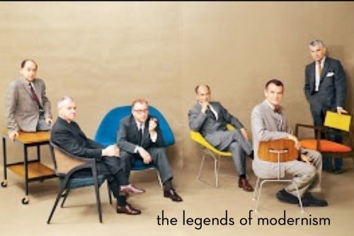 The Legends of Modernism.  It's been years since I've had the chance or urge to get back into things that I once took such a great interest in. I live in L.A., which is home to so many of these great mid-century modern architectural gems…I'd be an utter fool to not take advantage of this. I slowly get back into this, physically, starting Saturday. Stay tuned.