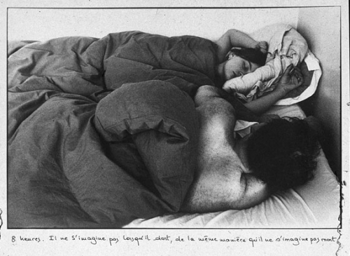 thee-efflux:  Sophie Calle, The Sleepers, 1979.