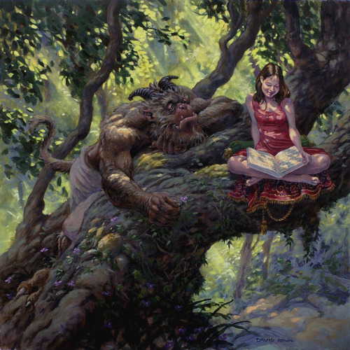 Beauty and the Beast by David Renn
