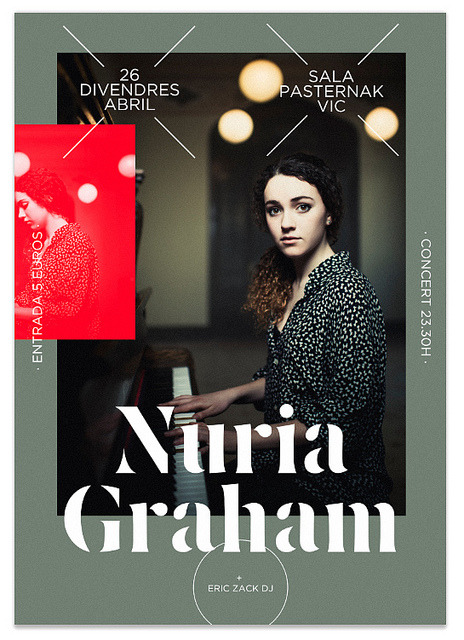 Poster Nuria Graham Gig on Flickr.