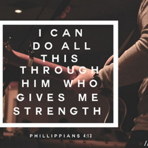 colie6:  I can do all things through god who strenth me! Love this so much!! I can truely say he is the only person, I can turn to no matter what, and he doesnt judge. He shows me the love I deserve !! #God #lord #faith #phillippians #4:13 #favoritequote #lovethis #neveralone #anythingispossible #believe
