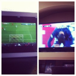Both games going on at once!