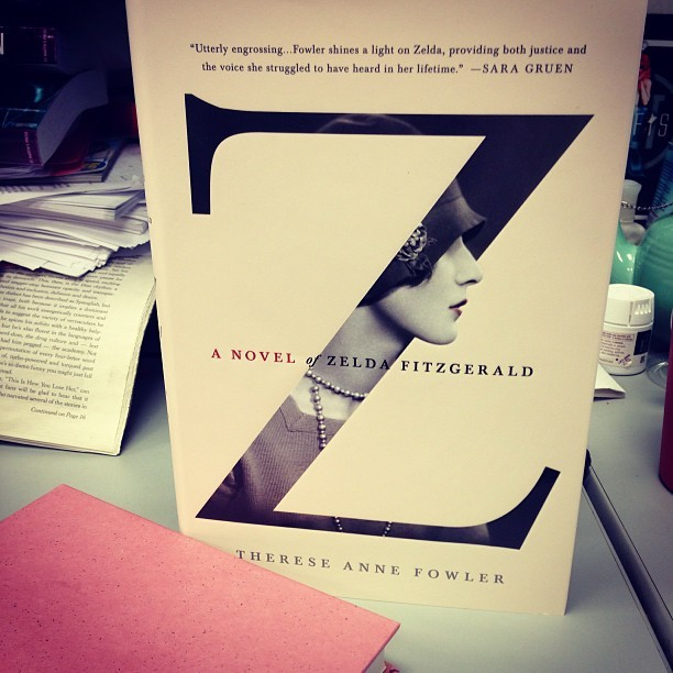 books:  juliafierro:  I am so very excited to read Z: A Novel of Zelda Fitzgerald, by fellow St. Martin's author Therese Anne Fowler. And I do think this gorgeous cover is a contender for the year's best! stmartinspress:  Cover of the year?   oooohhhhh ahhhhhhhh  gorgeous cover indeed