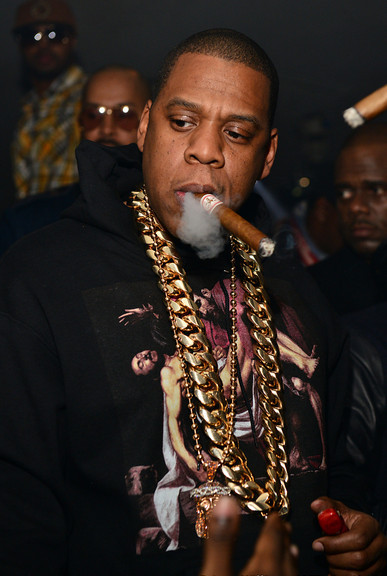 "aintnojigga:  ""Call me Hov or Jefe/ Translation: I'm the shit/ Least that what my neck say…"" That 5kg gold chain is sure saying a lot, Hov."