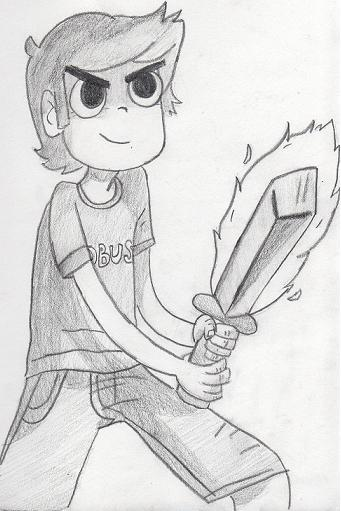 tobuscus:  Toby in Scott Pilgrim style? Yes. Enjoy!