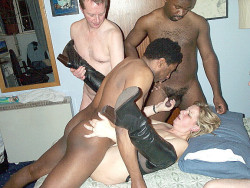 learningcuckold:  mwf38:  cuckwifey:  her husband likes to watch her black dates fuck her  Hold her legs open so he can go deep!