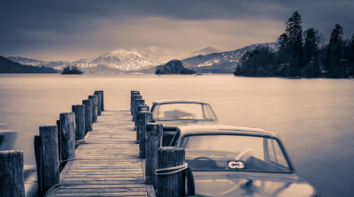 Cold Windermere by Matthew Maddock 2013.