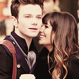 'To my partner in crime, Chris Colfer.'
