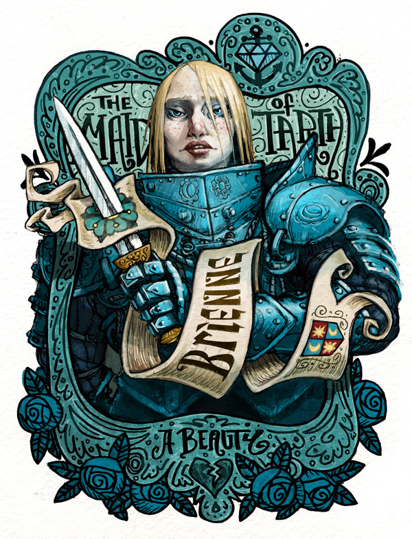 garabating:  Brienne by Rory Phillips - Follow @garabatweet and Garabating on Facebook -