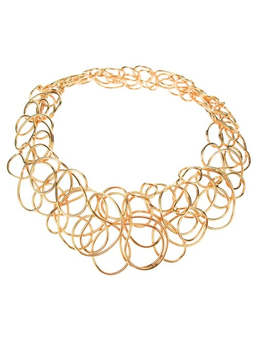 Fashion Crush: Stataments Necklaces.  'No Panic' Necklace by Les Paruriers
