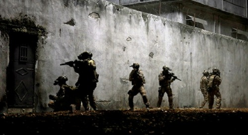 """Zero Dark Thirty"" Wins Box Office Battle Despite competition from a star-studded Gangster Squad, Zero Dark Thirty finished the weekend on top, earning $24 million its fourth week in theaters. The film about the hunt for Osama bin Laden stars Jessica Chastain, Jason Clarke, and Joel Edgerton and has sparked criticism by taking what some believe to be a pro-torture stance."