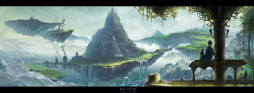 The Kingdom of Zeal, by lcaico