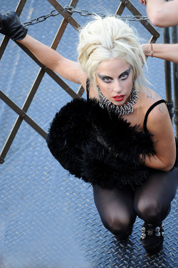 Lady Gaga for Vanity Fair, NYC 2011 [UHQ]