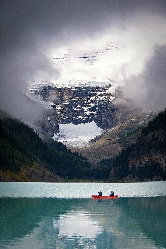 Lake Louis by (Jeff Pang)   In need of an escape