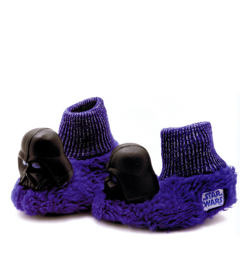 Good (k)night. Star Wars slippers circa 1977 :: scanned from Star Wars: 1000 Collectibles :: Abrams Books :: 2008