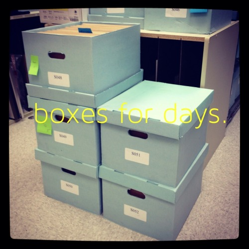 thedustyreverie:  This one picture sums up the life of an archivist. It's thrilling.