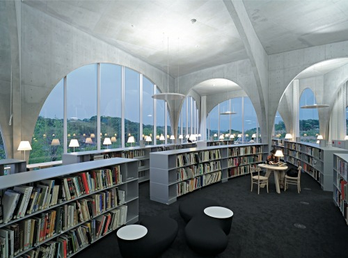 booklover:  Tama Art University Library- Japan