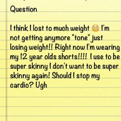 Just a question #question #helpme #fitblr #fitfam #fitchick #tiuteam #tiu #motivation