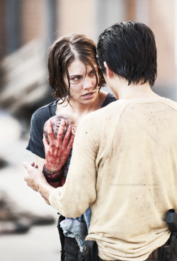 favorite couples (1/?) - Glenn and Maggie