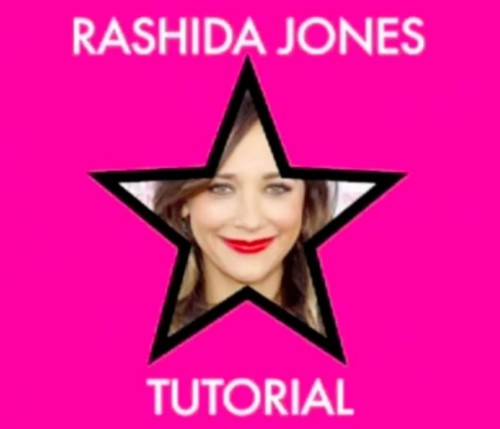 RASHIDA JONES WARM EYES AND RED LIPS TUTORIALby Jamie Greenberg http://bit.ly/15P7Sq6