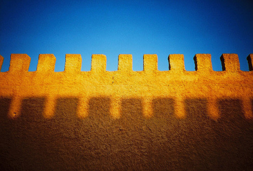 city wall by lomokev on Flickr.