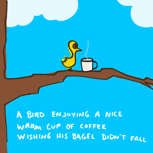 explodingdog:  morning coffee and bagel