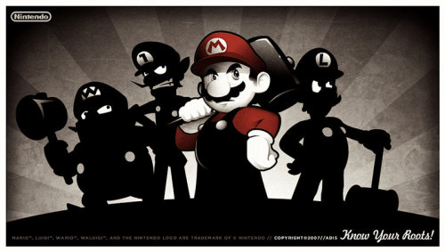 mario brothers unite by ~belldandies