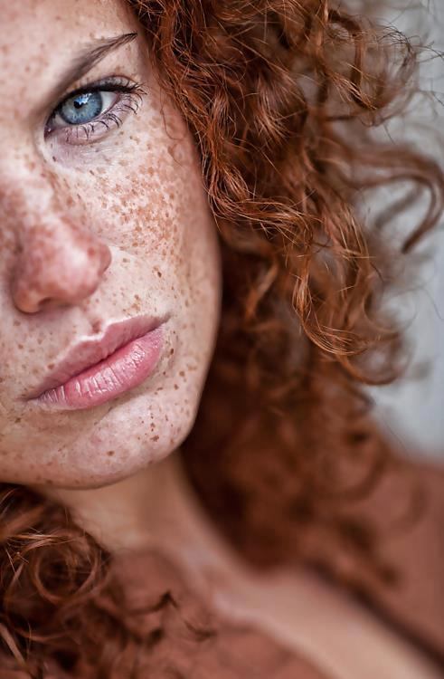 Sigh, swoon. So many freckles.