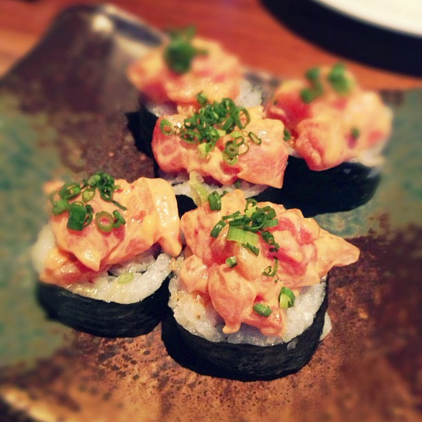 Spicy Salmon at #VIE hotel