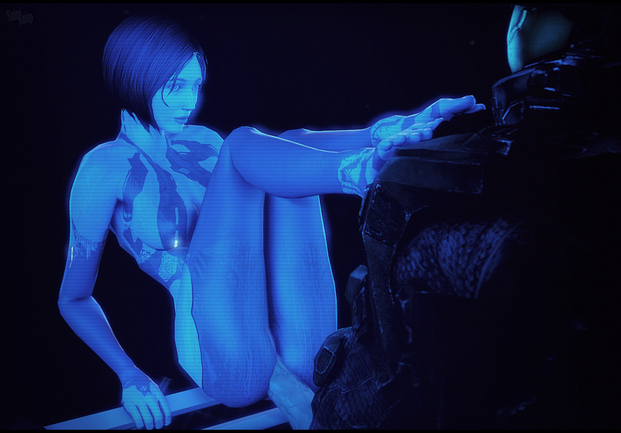 Halo cortana masterbating porn nude comic