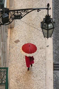 lisboameninaemoca:  Rainy Day In Lisbon by Sketch Book on Flickr.