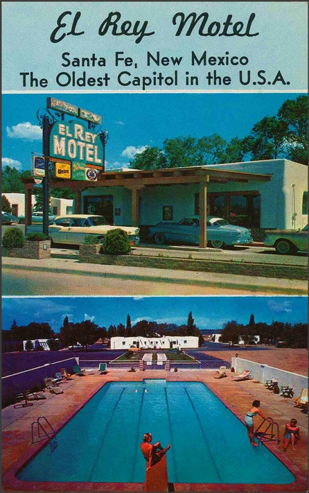 El Rey Motel, 1950s Santa Fe, New Mexico