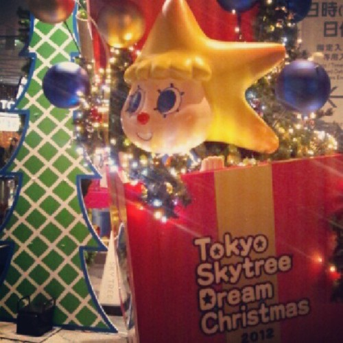 #東京スカイツリー #TokyoSkyTree #DreamChristmas2012 #Christmas #Xmas #illumination #ソラカラ
