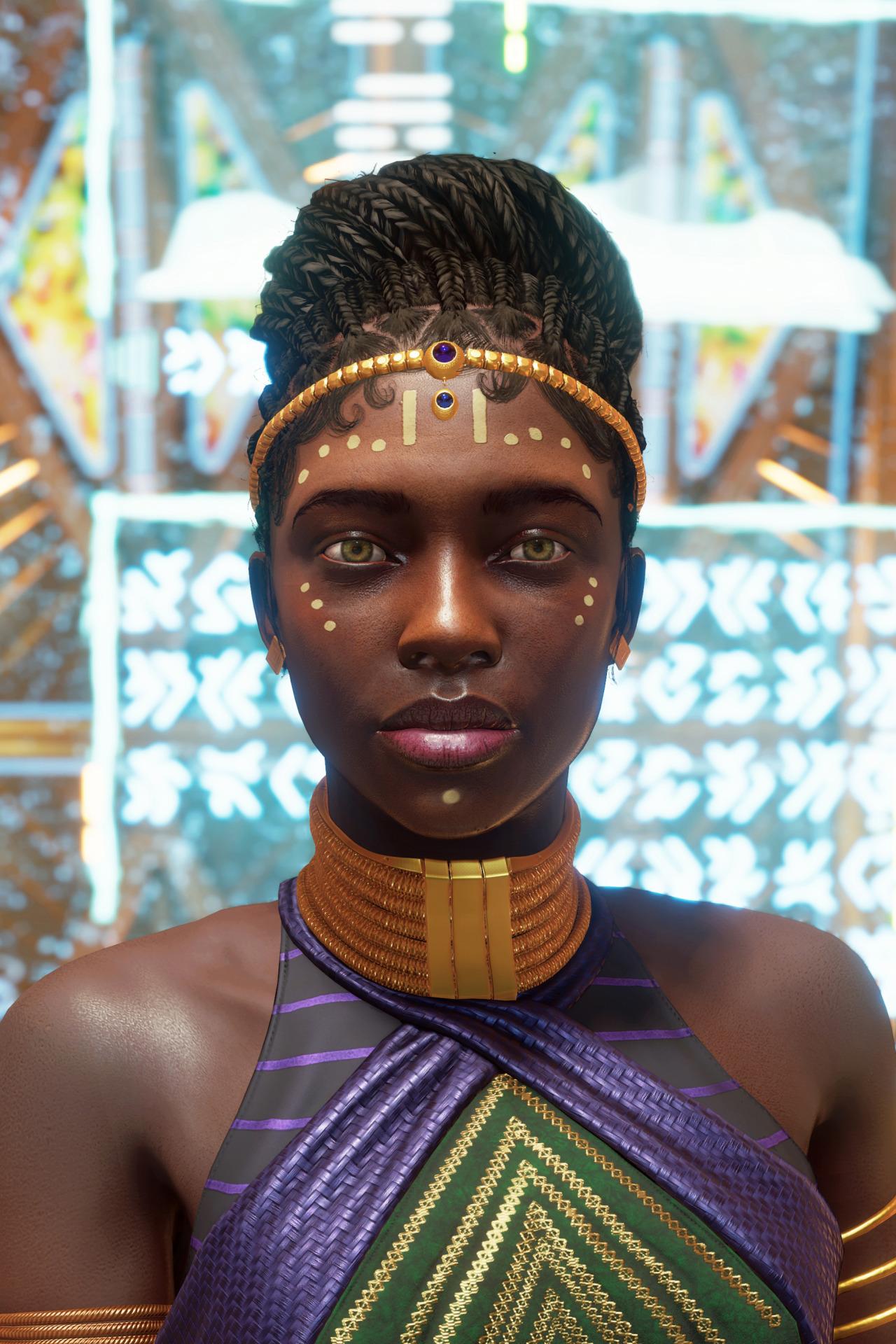Princess Shuri #marvels avengers#marveledit#avengersedit#marvelsavengersedit#gamingedit#virtual photography#game photography#photomode#screenshot#ps5#shuri#mine